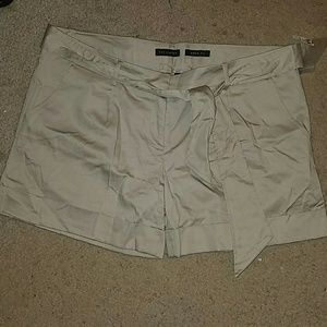 The Limited khaki shorts (3 for $25)